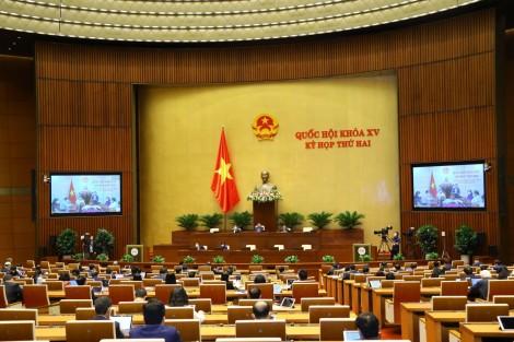 Ngày 24-10-2021, Quốc hội tiếp tục thảo luận trực tuyến về công tác phòng chống tội phạm