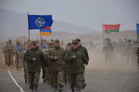 Lực lượng phản CSTO tập trận rầm rộ sát biên giới Afghanistan