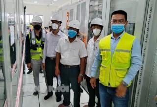 Kiểm tra nghiệm thu công trình Nhà máy Điện gió Bình Đại