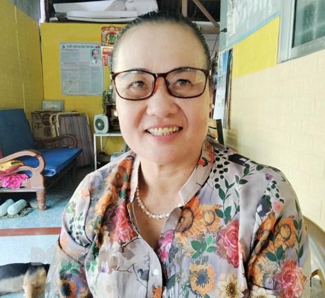Tổ trưởng Lê Thị Thanh Trúc nhiệt tình, năng nổ trong công tác