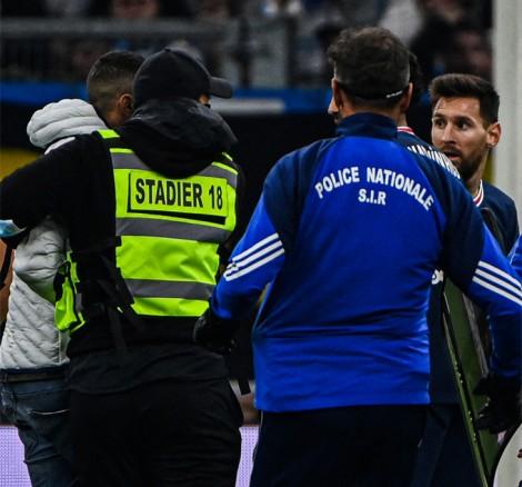 Messi mờ nhạt ở derby nước Pháp