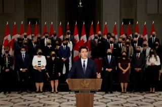 Thủ tướng Canada Justin Trudeau công bố thành viên nội các mới