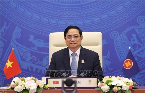 Thủ tướng Phạm Minh Chính đề nghị Nhật Bản tiếp tục hỗ trợ ASEAN