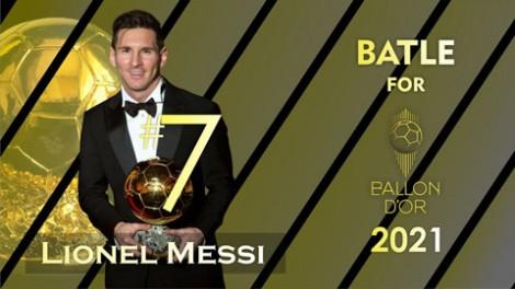 NHM bầu Messi giành Quả bóng vàng 2021, Ronaldo không lọt top 3